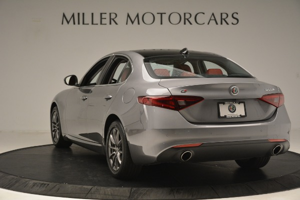 Used 2018 Alfa Romeo Giulia Q4 for sale Sold at Pagani of Greenwich in Greenwich CT 06830 5
