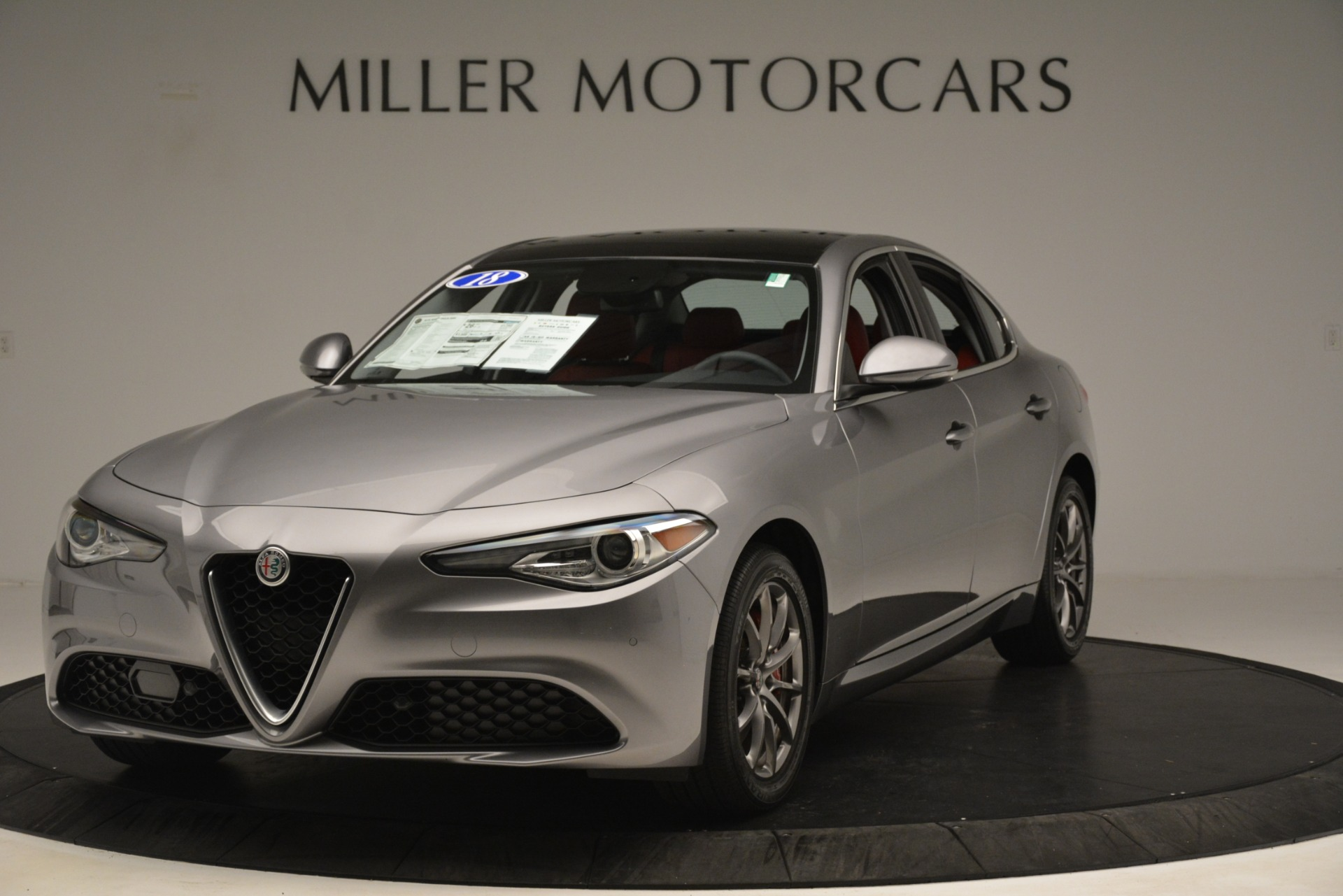 Used 2018 Alfa Romeo Giulia Q4 for sale Sold at Pagani of Greenwich in Greenwich CT 06830 1