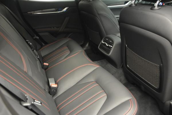 New 2016 Maserati Ghibli S Q4 for sale Sold at Pagani of Greenwich in Greenwich CT 06830 22