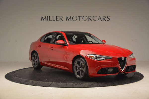 New 2018 Alfa Romeo Giulia Ti Sport Q4 for sale Sold at Pagani of Greenwich in Greenwich CT 06830 11