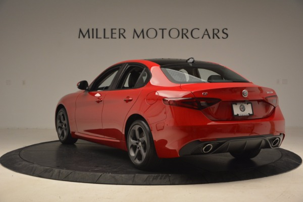 New 2018 Alfa Romeo Giulia Ti Sport Q4 for sale Sold at Pagani of Greenwich in Greenwich CT 06830 5