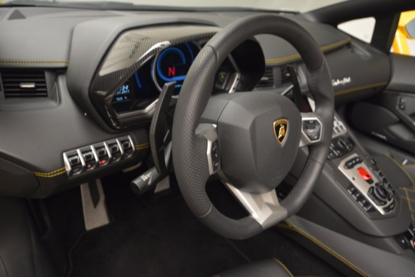 Used 2015 Lamborghini Aventador LP 700-4 Roadster for sale Sold at Pagani of Greenwich in Greenwich CT 06830 18