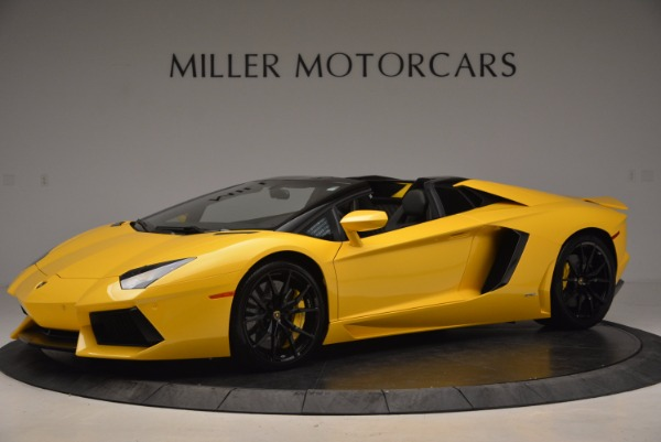 Used 2015 Lamborghini Aventador LP 700-4 Roadster for sale Sold at Pagani of Greenwich in Greenwich CT 06830 2