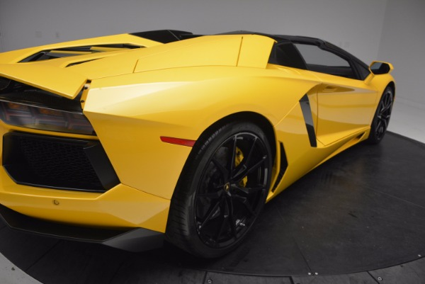 Used 2015 Lamborghini Aventador LP 700-4 Roadster for sale Sold at Pagani of Greenwich in Greenwich CT 06830 20