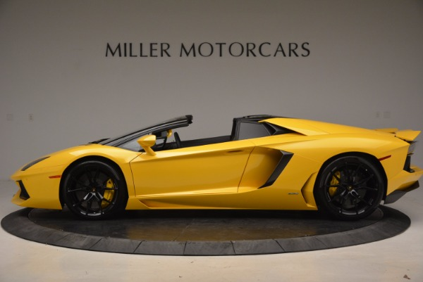 Used 2015 Lamborghini Aventador LP 700-4 Roadster for sale Sold at Pagani of Greenwich in Greenwich CT 06830 3