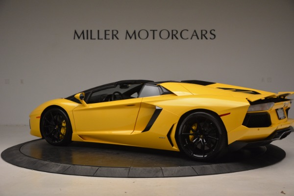 Used 2015 Lamborghini Aventador LP 700-4 Roadster for sale Sold at Pagani of Greenwich in Greenwich CT 06830 4
