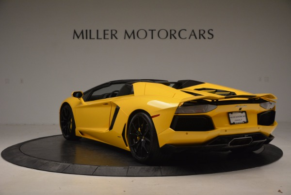 Used 2015 Lamborghini Aventador LP 700-4 Roadster for sale Sold at Pagani of Greenwich in Greenwich CT 06830 5
