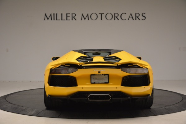 Used 2015 Lamborghini Aventador LP 700-4 Roadster for sale Sold at Pagani of Greenwich in Greenwich CT 06830 6