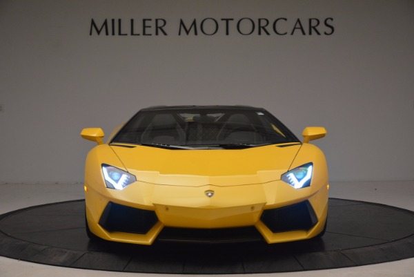 Used 2015 Lamborghini Aventador LP 700-4 Roadster for sale Sold at Pagani of Greenwich in Greenwich CT 06830 7