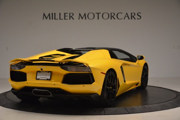 Used 2015 Lamborghini Aventador LP 700-4 Roadster for sale Sold at Pagani of Greenwich in Greenwich CT 06830 8