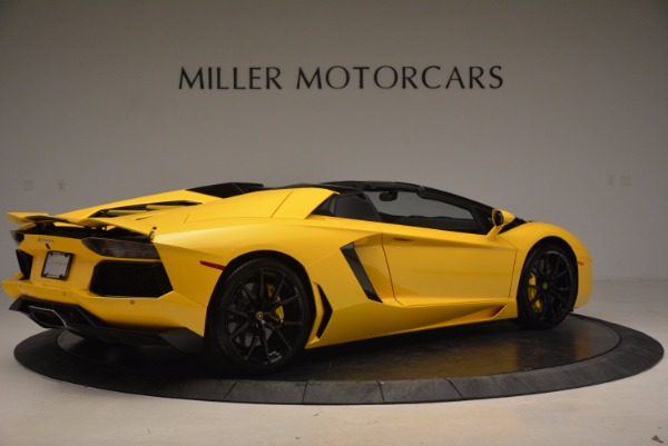 Used 2015 Lamborghini Aventador LP 700-4 Roadster for sale Sold at Pagani of Greenwich in Greenwich CT 06830 9