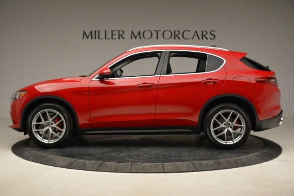 New 2018 Alfa Romeo Stelvio Ti Q4 for sale Sold at Pagani of Greenwich in Greenwich CT 06830 3