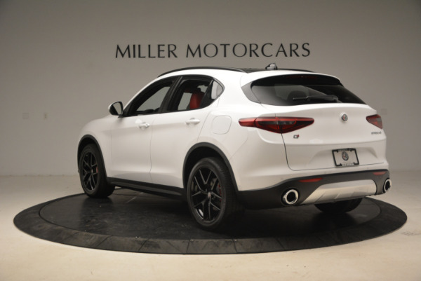 New 2018 Alfa Romeo Stelvio Ti Sport Q4 for sale Sold at Pagani of Greenwich in Greenwich CT 06830 5