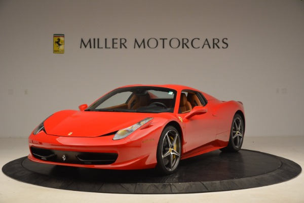 Used 2013 Ferrari 458 Spider for sale Sold at Pagani of Greenwich in Greenwich CT 06830 13