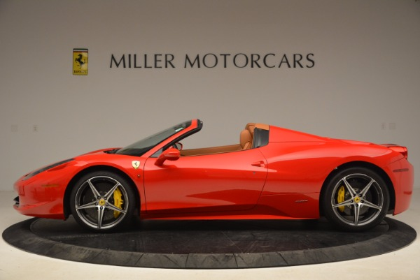 Used 2013 Ferrari 458 Spider for sale Sold at Pagani of Greenwich in Greenwich CT 06830 3