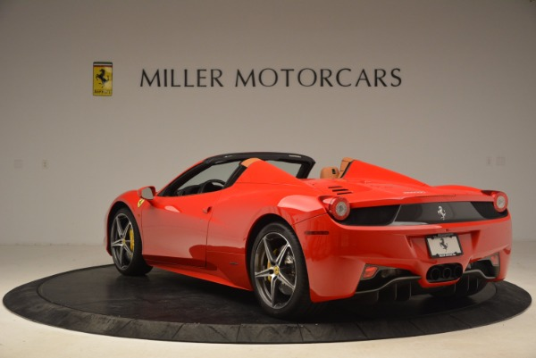 Used 2013 Ferrari 458 Spider for sale Sold at Pagani of Greenwich in Greenwich CT 06830 5