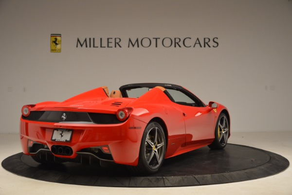 Used 2013 Ferrari 458 Spider for sale Sold at Pagani of Greenwich in Greenwich CT 06830 7