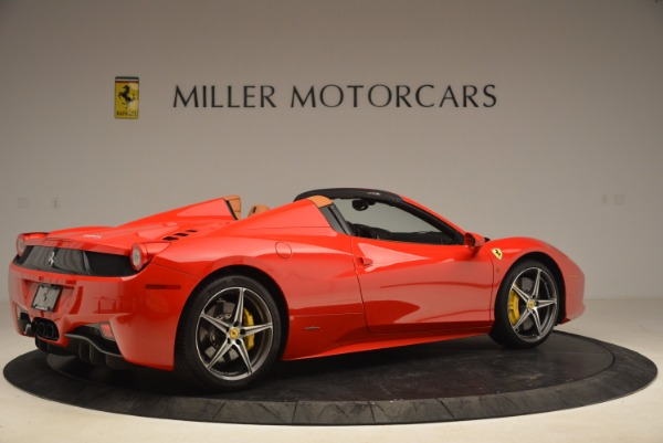 Used 2013 Ferrari 458 Spider for sale Sold at Pagani of Greenwich in Greenwich CT 06830 8
