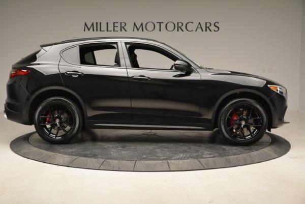 New 2018 Alfa Romeo Stelvio Ti Sport Q4 for sale Sold at Pagani of Greenwich in Greenwich CT 06830 9