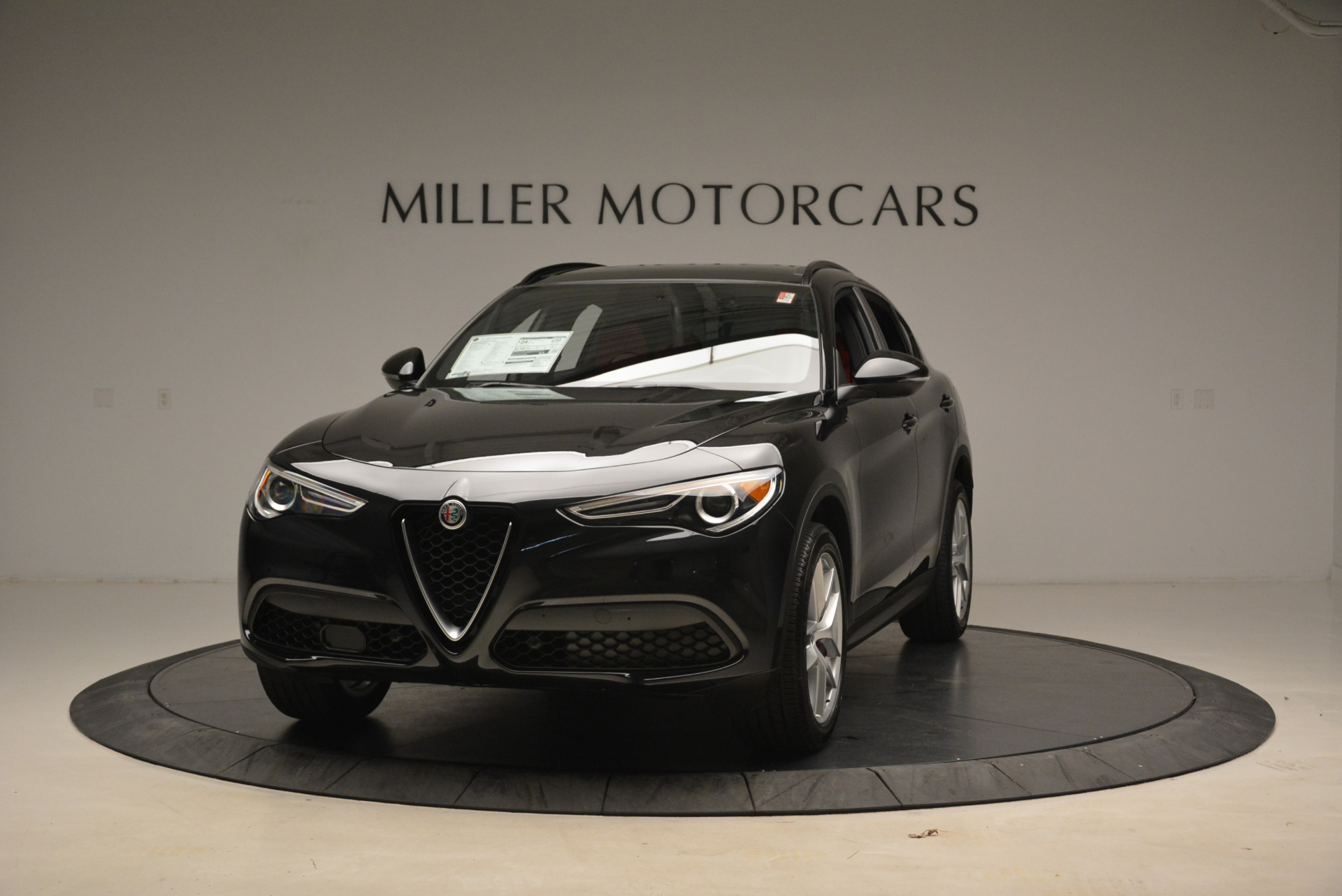 New 2018 Alfa Romeo Stelvio Ti Sport Q4 for sale Sold at Pagani of Greenwich in Greenwich CT 06830 1