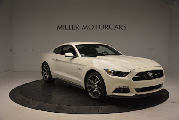 Used 2015 Ford Mustang GT 50 Years Limited Edition for sale Sold at Pagani of Greenwich in Greenwich CT 06830 11