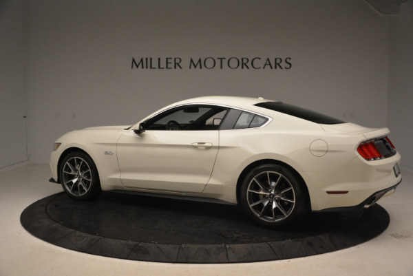 Used 2015 Ford Mustang GT 50 Years Limited Edition for sale Sold at Pagani of Greenwich in Greenwich CT 06830 4