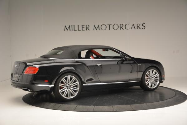 Used 2014 Bentley Continental GT Speed Convertible for sale Sold at Pagani of Greenwich in Greenwich CT 06830 21