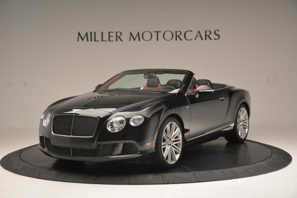 Used 2014 Bentley Continental GT Speed Convertible for sale Sold at Pagani of Greenwich in Greenwich CT 06830 1