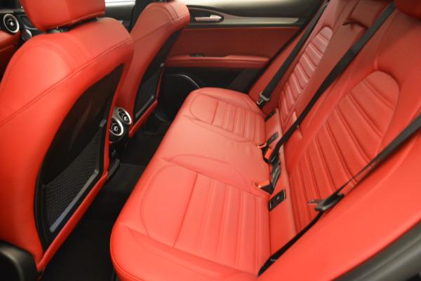 New 2018 Alfa Romeo Stelvio Ti Sport Q4 for sale Sold at Pagani of Greenwich in Greenwich CT 06830 17