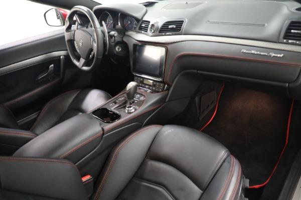 Used 2018 Maserati GranTurismo Sport for sale $94,900 at Pagani of Greenwich in Greenwich CT 06830 18