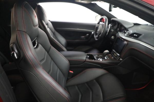 Used 2018 Maserati GranTurismo Sport for sale $94,900 at Pagani of Greenwich in Greenwich CT 06830 19