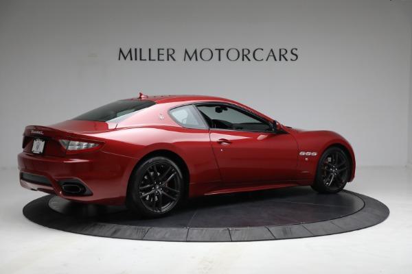 Used 2018 Maserati GranTurismo Sport for sale $94,900 at Pagani of Greenwich in Greenwich CT 06830 8