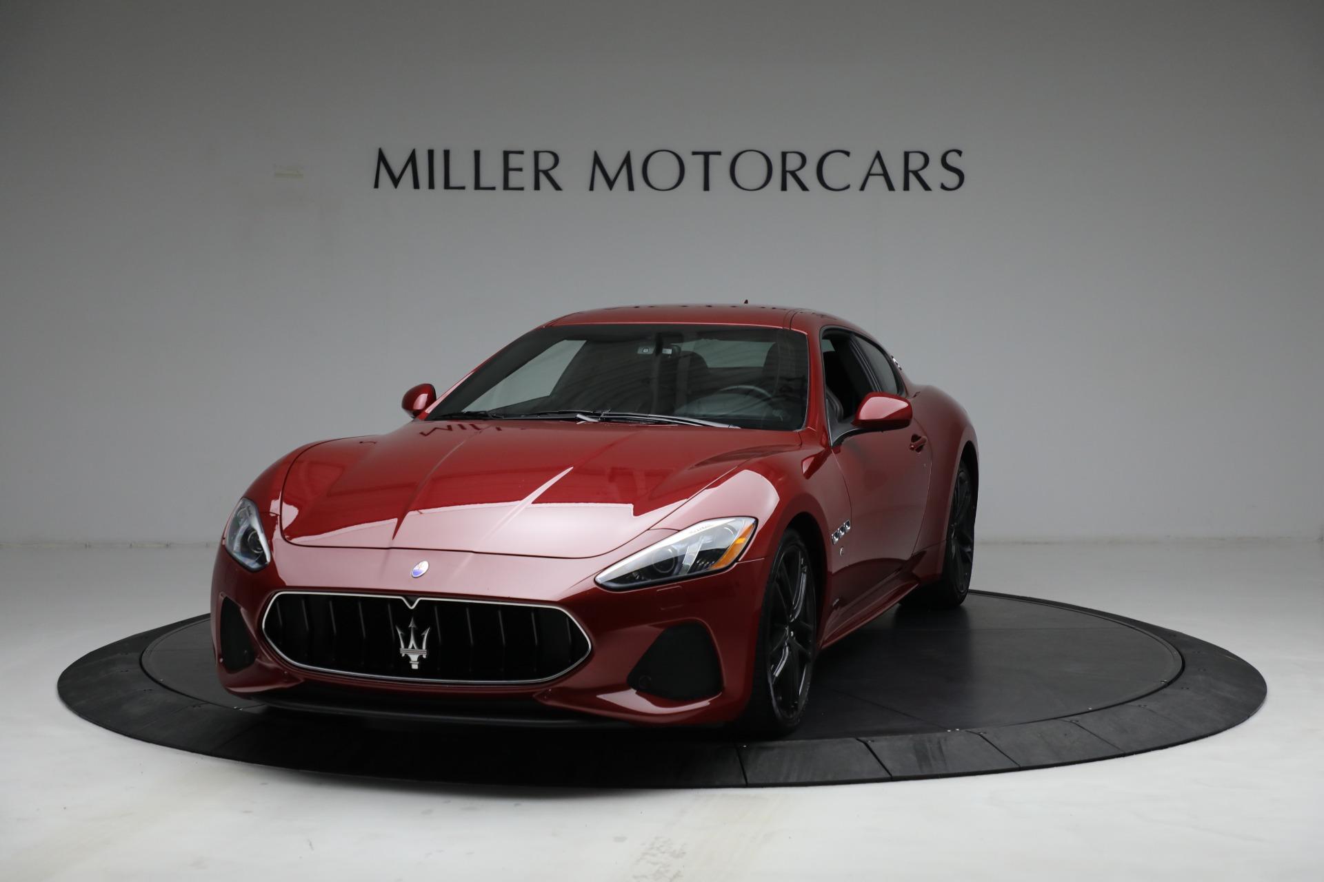 Used 2018 Maserati GranTurismo Sport for sale $94,900 at Pagani of Greenwich in Greenwich CT 06830 1