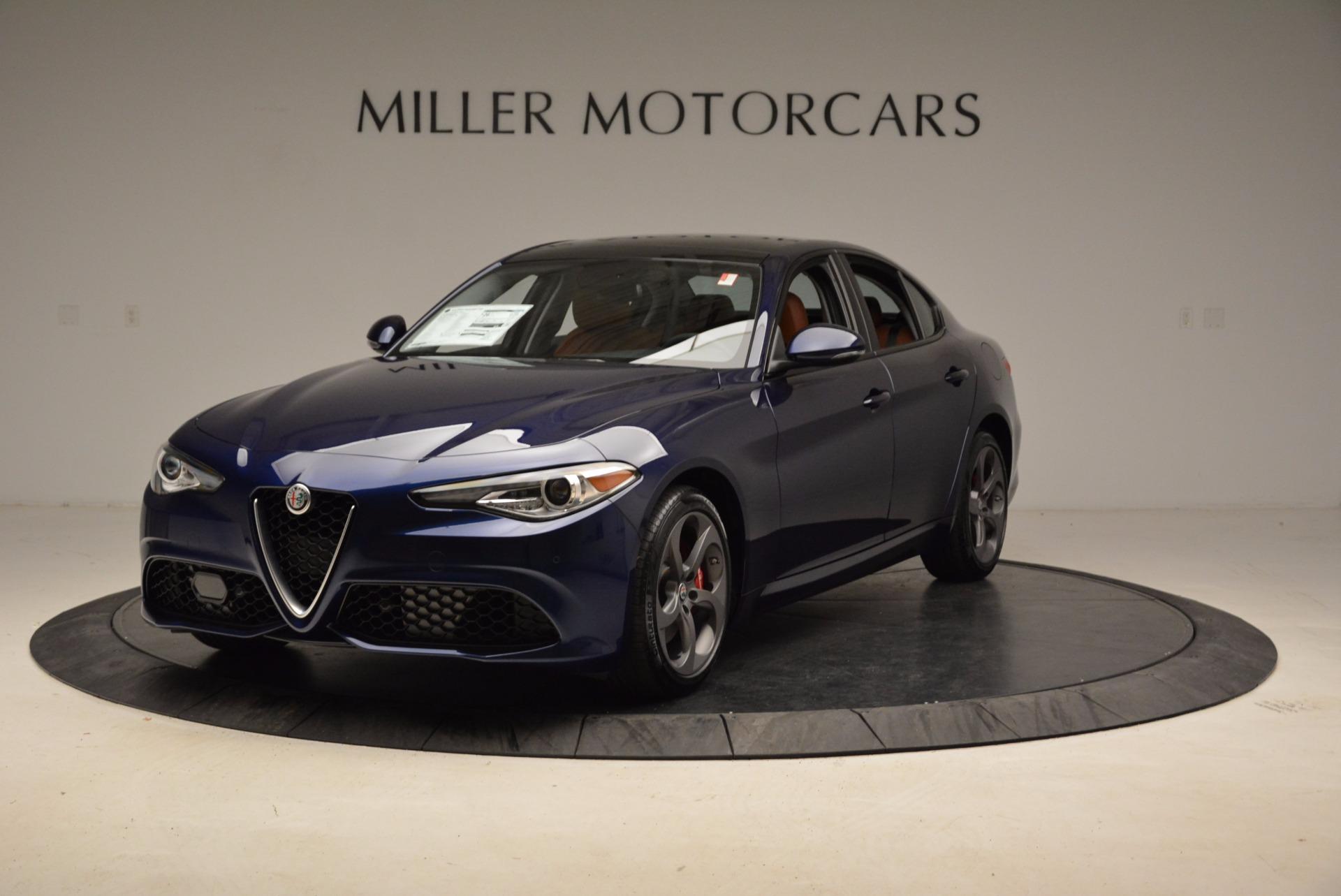 New 2018 Alfa Romeo Giulia Sport Q4 for sale Sold at Pagani of Greenwich in Greenwich CT 06830 1