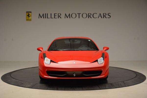 Used 2012 Ferrari 458 Italia for sale Sold at Pagani of Greenwich in Greenwich CT 06830 12