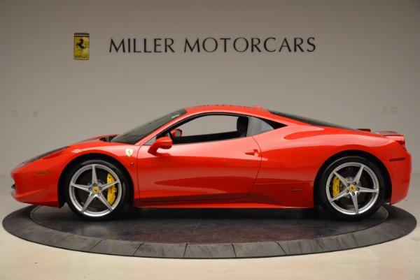 Used 2012 Ferrari 458 Italia for sale Sold at Pagani of Greenwich in Greenwich CT 06830 3