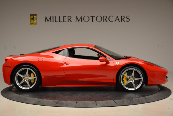 Used 2012 Ferrari 458 Italia for sale Sold at Pagani of Greenwich in Greenwich CT 06830 9