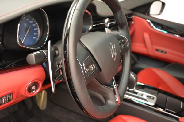 New 2016 Maserati Quattroporte S Q4  *******      DEALER'S  DEMO for sale Sold at Pagani of Greenwich in Greenwich CT 06830 17