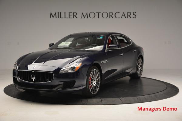 New 2016 Maserati Quattroporte S Q4  *******      DEALER'S  DEMO for sale Sold at Pagani of Greenwich in Greenwich CT 06830 1