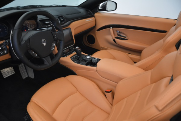 Used 2018 Maserati GranTurismo Sport Convertible for sale Sold at Pagani of Greenwich in Greenwich CT 06830 23