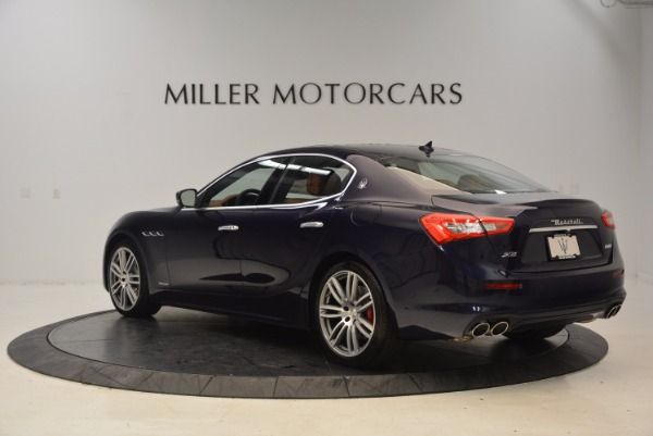 New 2018 Maserati Ghibli S Q4 GranLusso for sale Sold at Pagani of Greenwich in Greenwich CT 06830 5