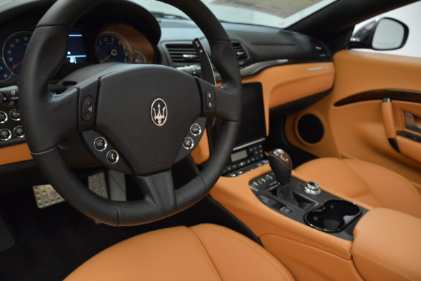 New 2018 Maserati GranTurismo Sport Convertible for sale Sold at Pagani of Greenwich in Greenwich CT 06830 28