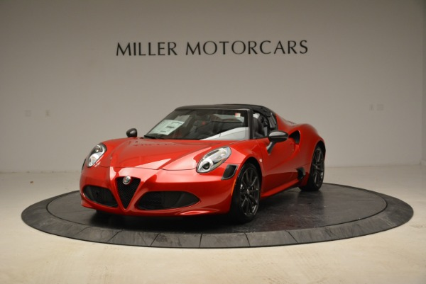 New 2018 Alfa Romeo 4C Spider for sale Sold at Pagani of Greenwich in Greenwich CT 06830 2
