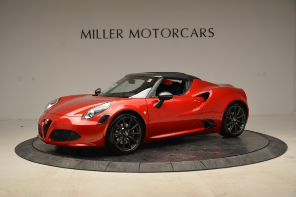 New 2018 Alfa Romeo 4C Spider for sale Sold at Pagani of Greenwich in Greenwich CT 06830 3