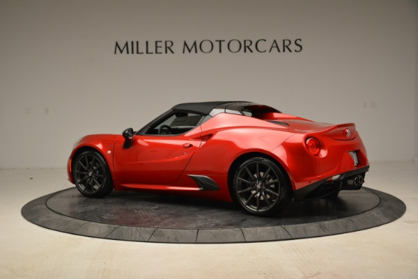 New 2018 Alfa Romeo 4C Spider for sale Sold at Pagani of Greenwich in Greenwich CT 06830 7