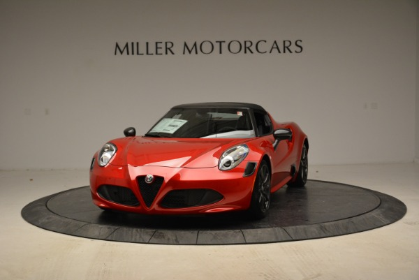 New 2018 Alfa Romeo 4C Spider for sale Sold at Pagani of Greenwich in Greenwich CT 06830 1
