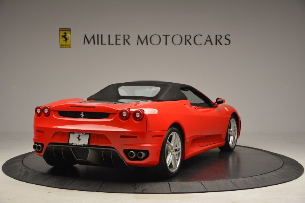 Used 2006 Ferrari F430 SPIDER F1 Spider for sale Sold at Pagani of Greenwich in Greenwich CT 06830 19