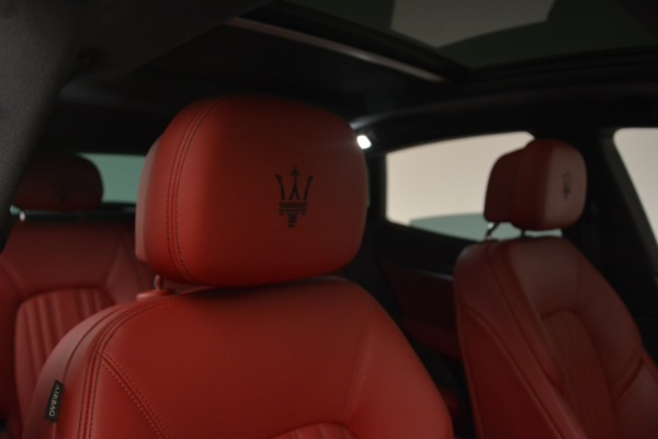 New 2018 Maserati Levante Q4 GranLusso for sale Sold at Pagani of Greenwich in Greenwich CT 06830 22