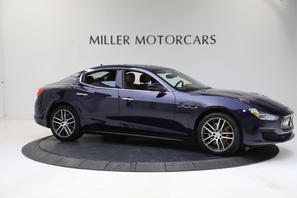 Used 2018 Maserati Ghibli S Q4 for sale $53,900 at Pagani of Greenwich in Greenwich CT 06830 10