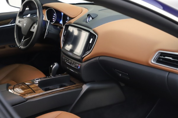 Used 2018 Maserati Ghibli S Q4 for sale $53,900 at Pagani of Greenwich in Greenwich CT 06830 22